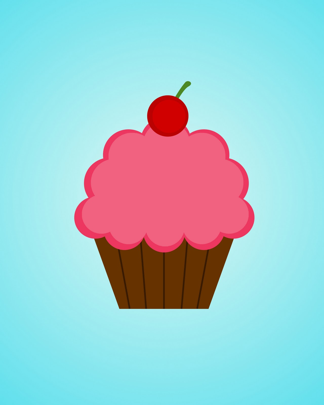 Free Printable Images Of Cupcakes : WhimsiKel: Printables (Including My Cupcake Printable!)