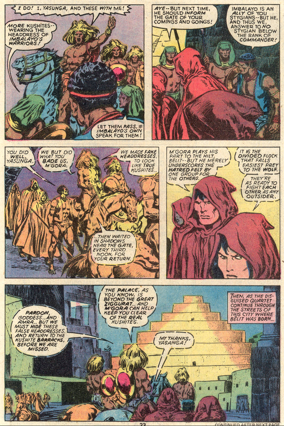 Conan the Barbarian (1970) Issue #91 #103 - English 14