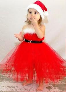 Gaun Natal Untuk Anak Perempuan