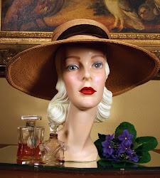 Vintage Mannequin Head Reproduction