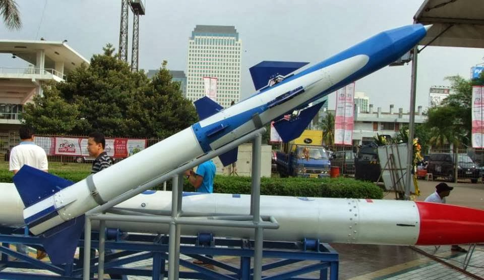 Maret 2014, Lapan Tembakkan Roket Dengan Jangkauan 100 km