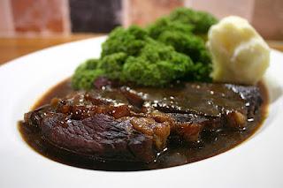 Braised Beef Steak