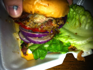 Gastro Punk Duck and Pork Burger