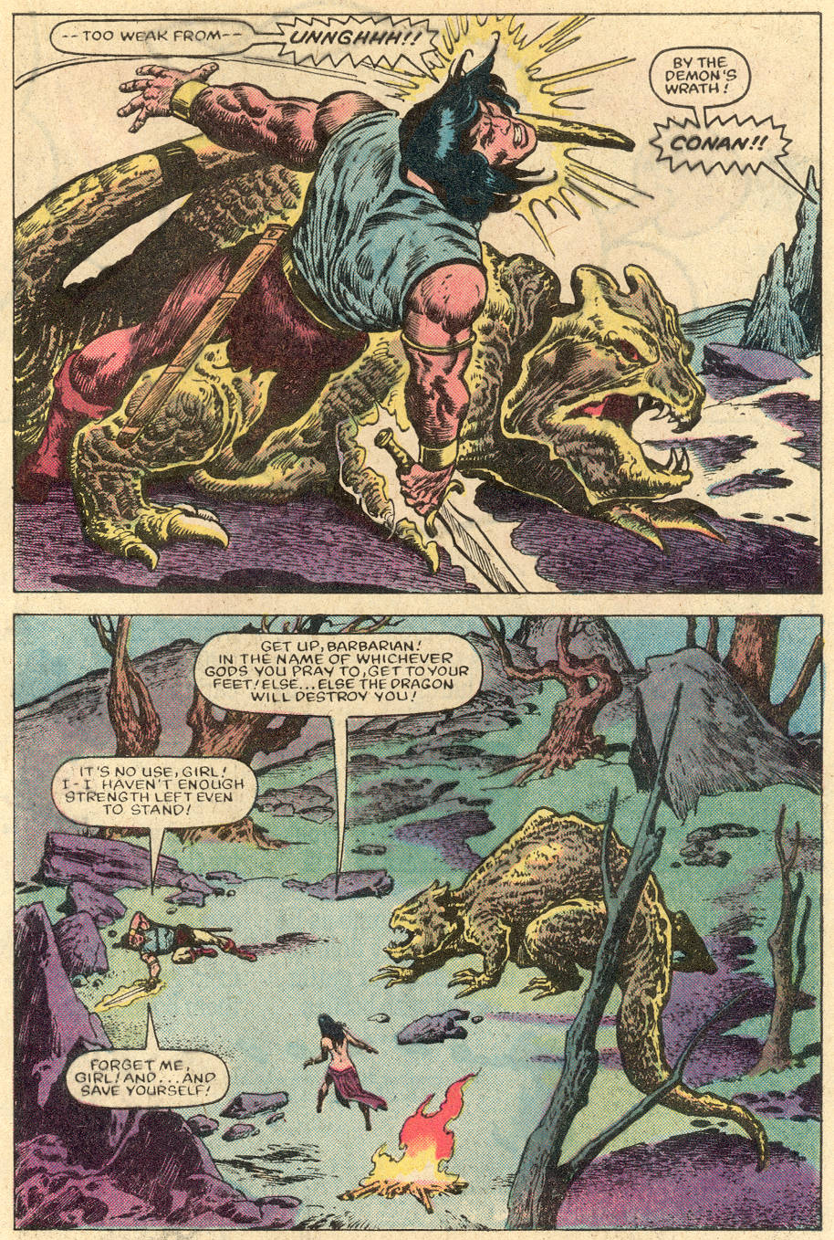 Conan the Barbarian (1970) Issue #152 #164 - English 14