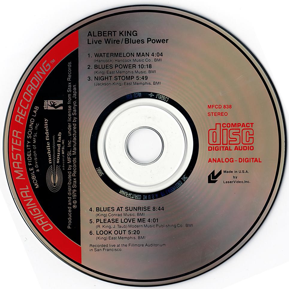 Rockasteria Albert King Live Wire Blues Power 1968