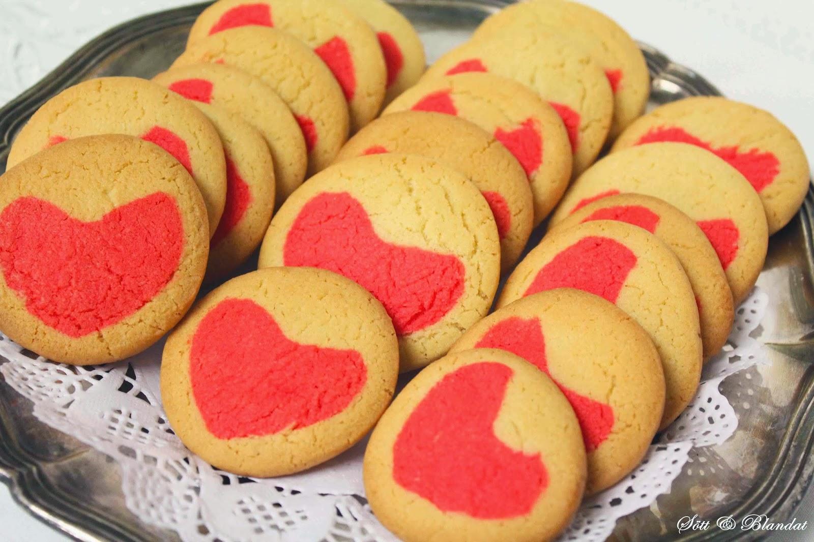 alla hjärtans dag kakor recept