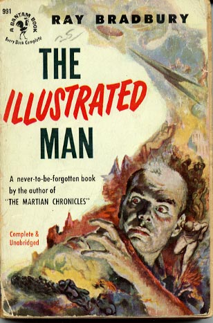 the illustrated man book report Ray bradbury's the illustrated man is a kaleidoscopic blending of magic, imagination, and truth, widely believed to be one of the grandmaster's premier accomplishments: as exhilarating as interplanetary travel, as maddening as a walk in a million-year rain, and as comforting as simple, familiar rituals on the last night of the world.