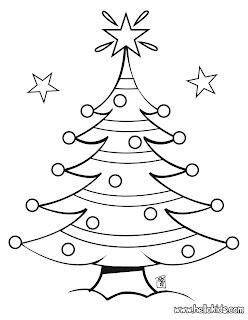 imagens arvores de natal para colorir - Desenhos de Natal para colorir Desenhos para Colorir