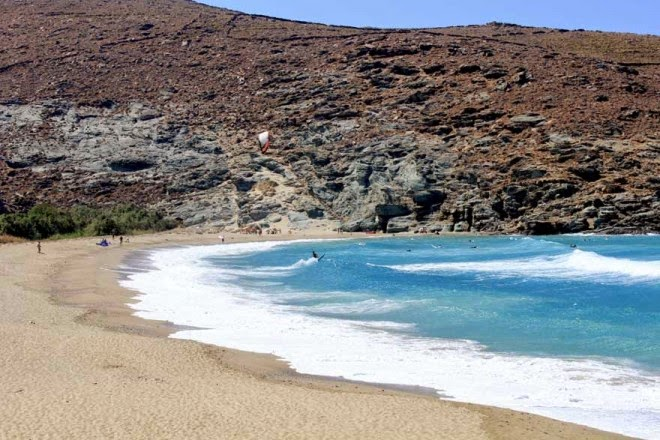Κολυμπήθρα, Κελλιανή άμμος