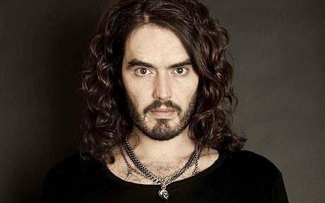 Picture of comedian and actor Russell Brand