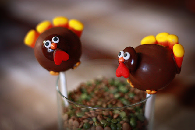 Images Of Turkey Cake Pops : love and butter: turkey cake pops