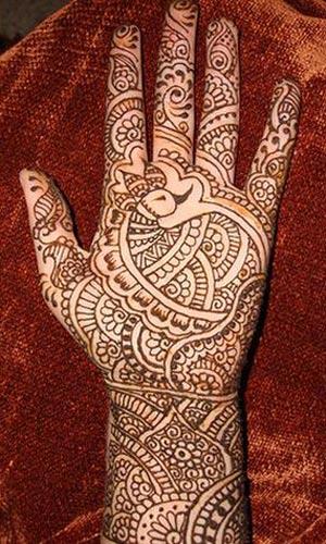 Latest Mehndi Designs for 2011