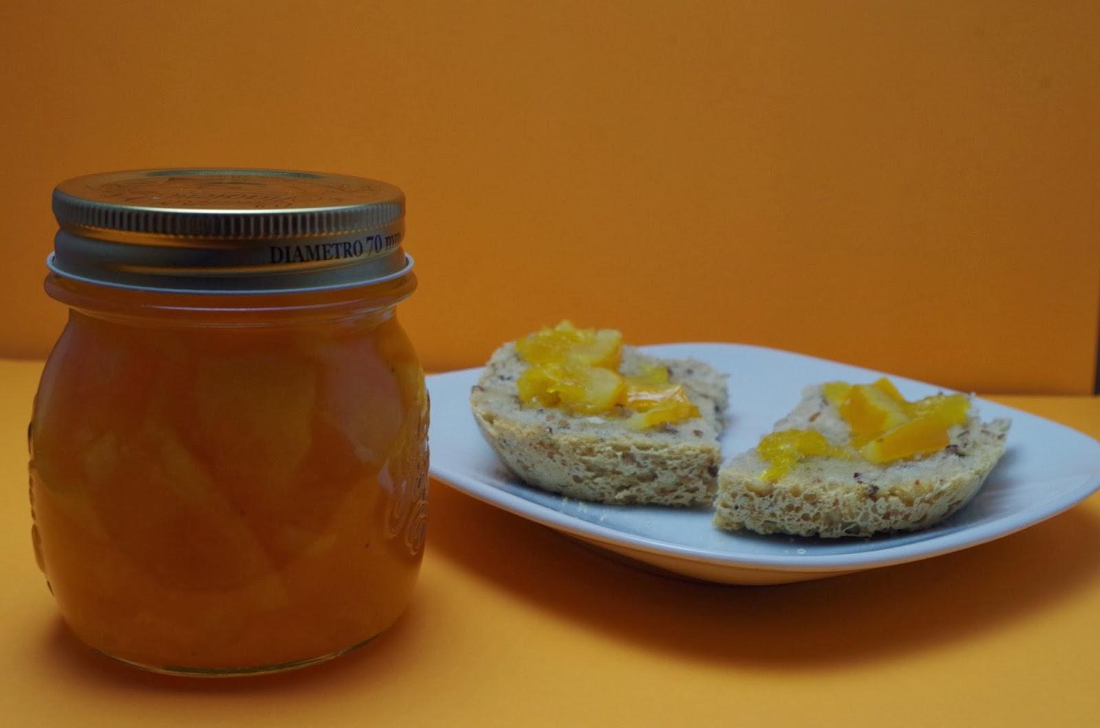 Doce de laranja com casca