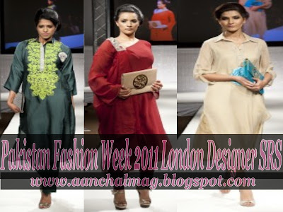 Collection at Pakistan Fashion Week 2011 London | Latest Long Frocks