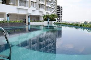 Infinity Pool U1 Prima/ Kolam renang U1Prima
