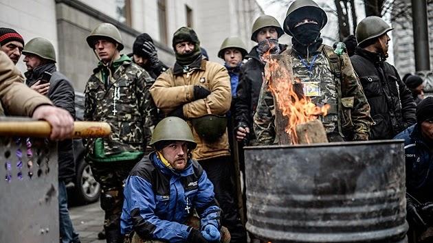 Fascistas ucranianos desmascarados