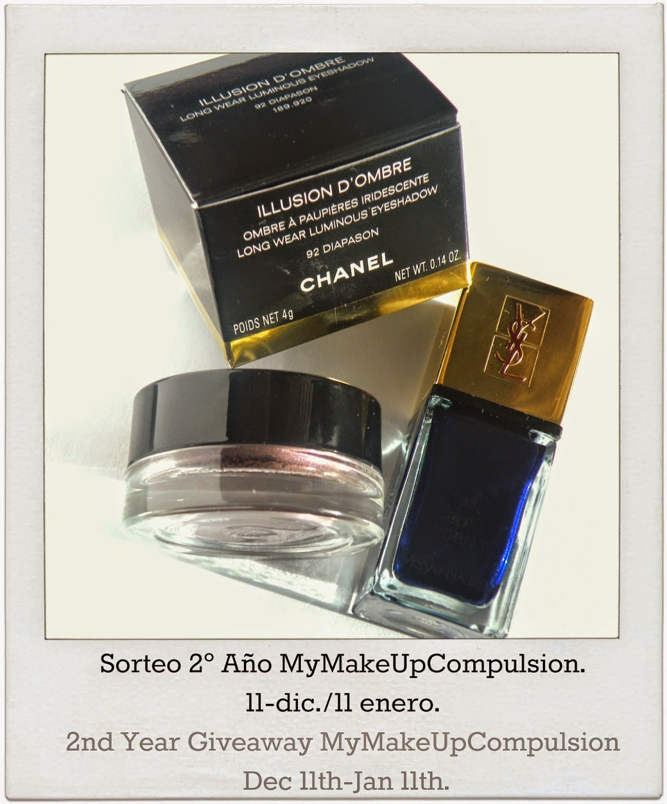 SORTEO EN MY MAKE UP COMPULSION