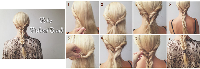 Tutorial Model Rambut Panjang Dengan Model Fake Fish Tail