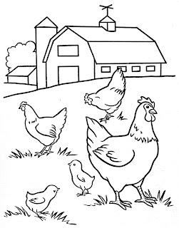 Desenhos Para Colorir F 233 Rias Na Fazenda