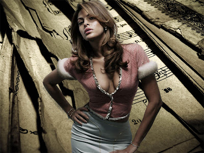 Eva Mendes Latest Wallpapers 2012