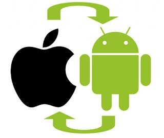 Aplikasi untuk Mentransfer file Antara iOS dan Android