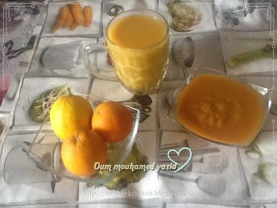 وصفة عصير الرتقال، مربى البرتقال، وصفات منزلية صحية