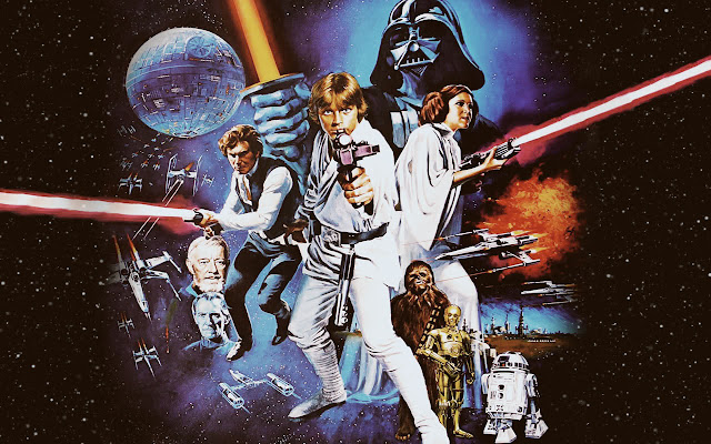 classic Star Wars A New Hope poster art