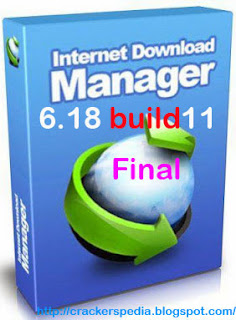 free download Internet Download Manager IDM 6.18 Build 11 Final with License and Crack, idm with crack, idm latest version
