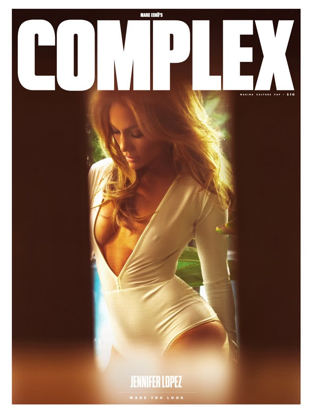 Actors, dancers, musicians, music producers: Jennifer Lopez - Complex, February/March 2015 Issue