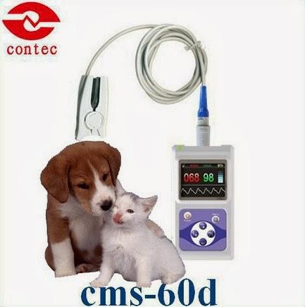 Oxímetros de pulso veterinário contec med