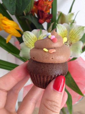 čokoládové cupcakes, recept