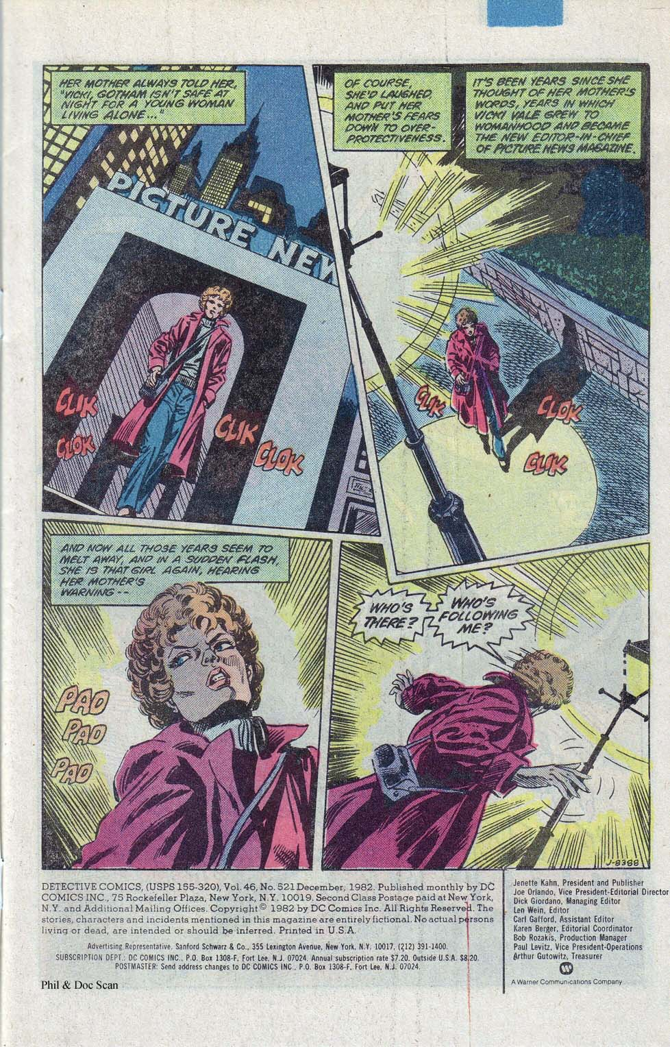 Detective Comics (1937) Issue #521 Page 2