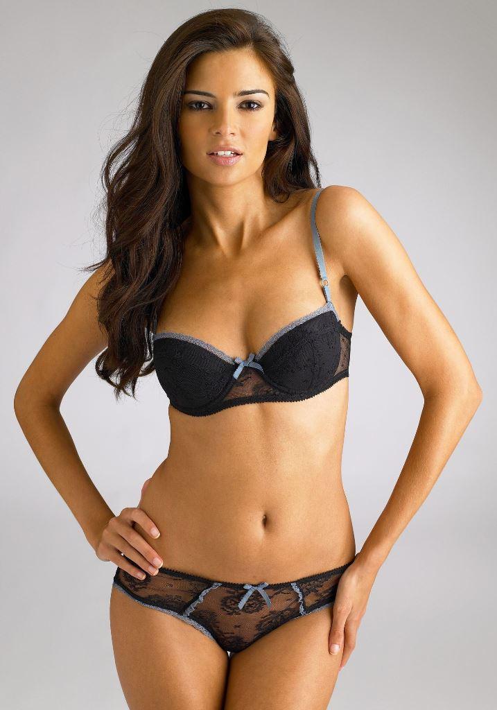 French Lingerie Model Jennifer Lamiraqui - celebs-bikini
