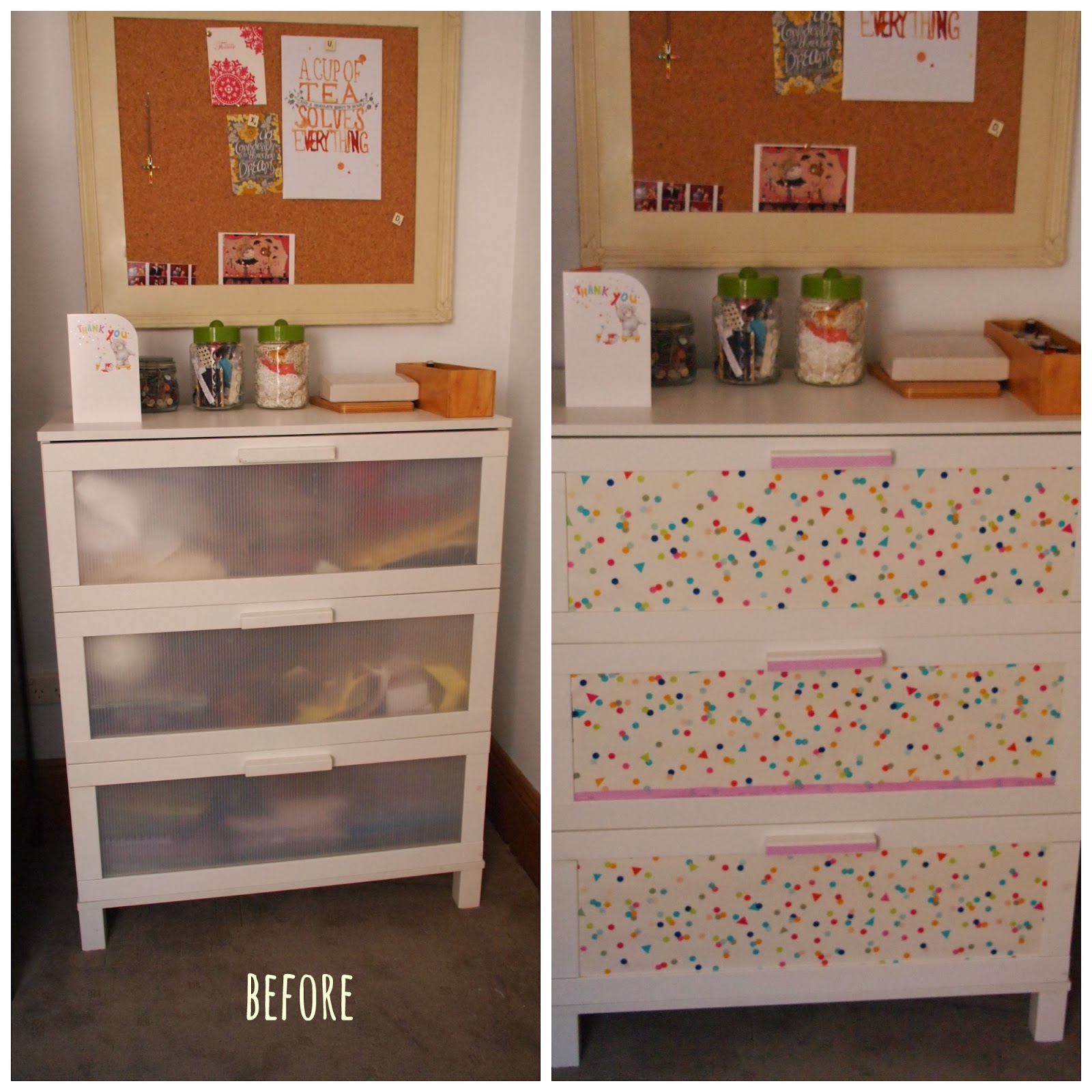 the thrifty challenge ikea aneboda hack. Black Bedroom Furniture Sets. Home Design Ideas