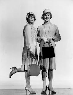 Tony Curtis y Jack Lemmon en Con faldas y a lo loco