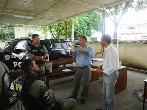 Sgt. Ricardo Dir. Adm. da ASSP-PE, Explanando ao efetivo do BPRP, em 12/09/13