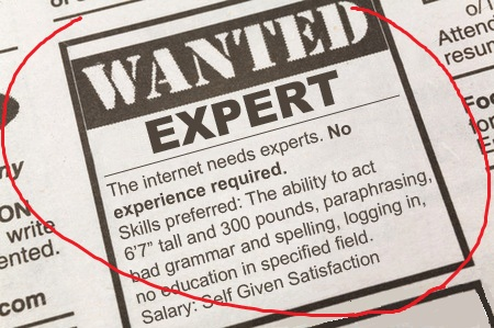 Mr. Internet Expert Probably Can't Help You