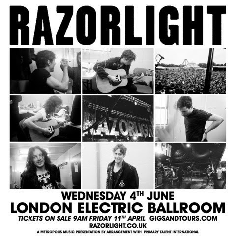 Razorlight London headline show