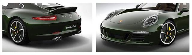 Detalles del automóvil Porsche 911 Club Coupé