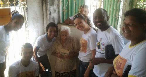 Juventude em missão na Paróquia de Pedro Canário (ES)