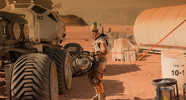 The Martian, Churp Churp, Churpremiere, Matt Damon, Mars, NASA, Jessica Chastain, Kristen Wiig, Jeff Daniels, Michael Peña, Kate Mara, Sean Bean, Science fiction, byrawlins, movie review,