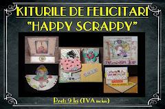 Kiturile de felicitari Happy Scrappy - 9 lei
