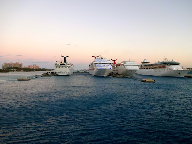 Port of Nassau Cruise Ships