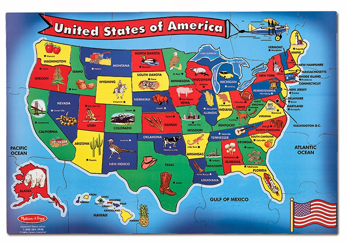 Download Map Usa Eastern States Major Tourist Attractions Maps - Us map west side