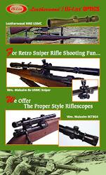 2013 Vintage Sniper Model Scopes Poster