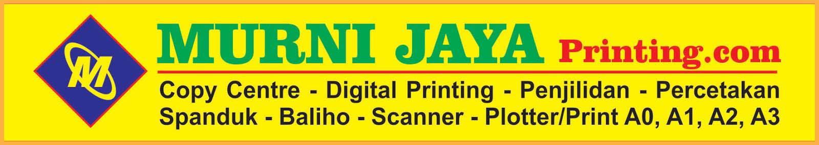 MURNI JAYA Printing » Jasa Fotocopy & Cetak Spanduk 24 Jam di Jakarta