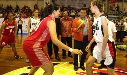 12 Negara ambil bagian pada Kejuaraan Basket Putri Asia U-16 di Medan