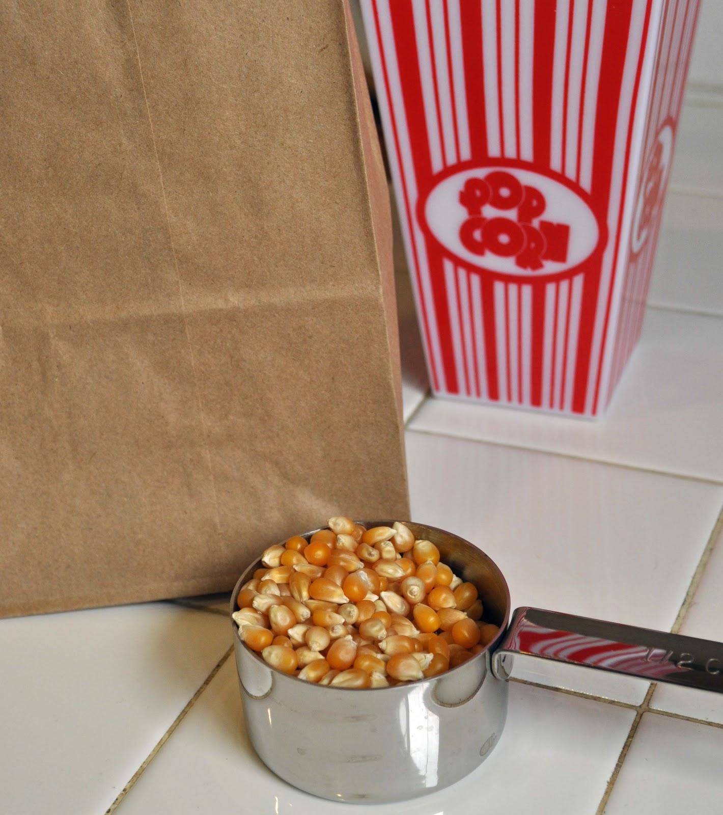 katydiddys: Homemade Microwave Popcorn