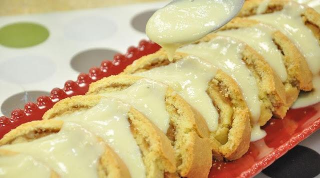 vanilya soslu elmalı kurabiye tarifi