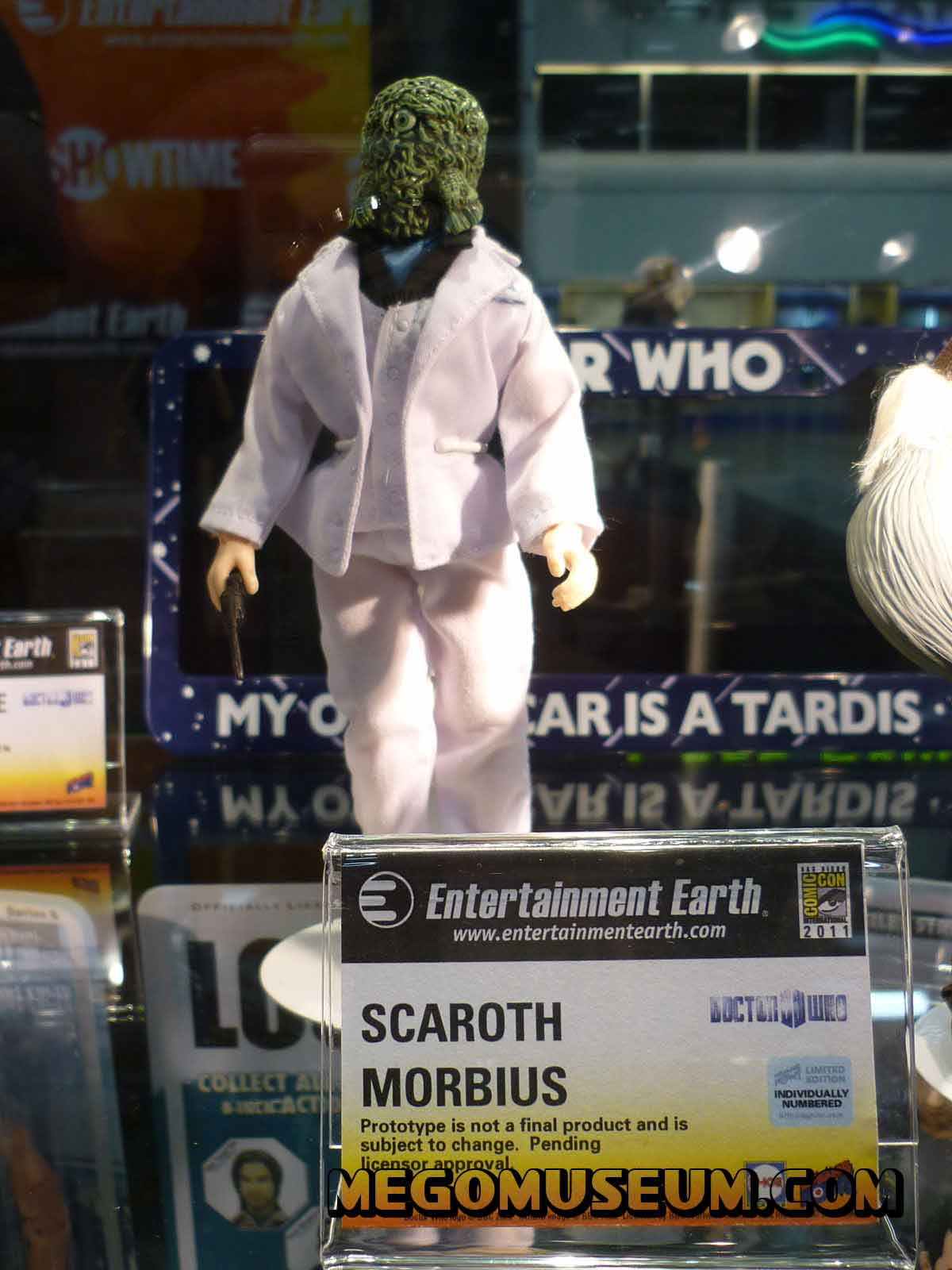 Mego scaroth from Doctor Who